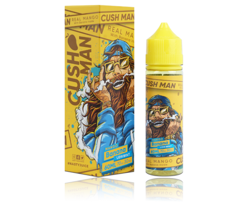 Nasty Juice Cush Man Series - Mango Banana - 50ml Shortfill