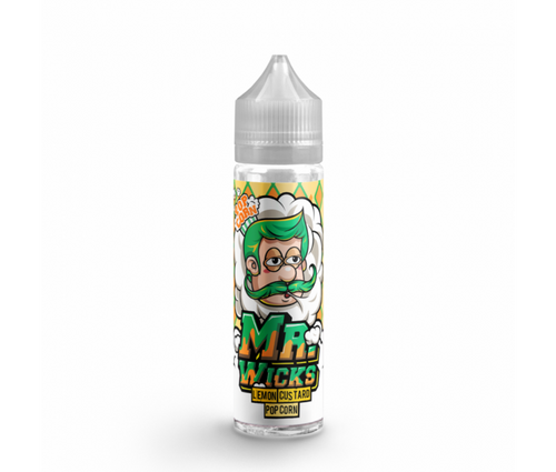 Mr. Wicks Popcorn - Lemon Custard Popcorn - 50ml Shortfill