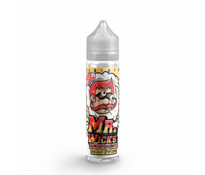 Mr. Wicks Popcorn - Raspberry & White Chocolate Popcorn - 50ml Shortfill