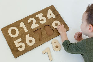Numbers Puzzle - Things They Love