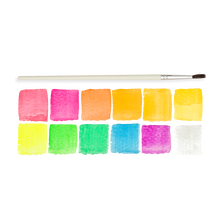 Load image into Gallery viewer, Chroma Blends Neon Watercolor Paint - 13 PC Set