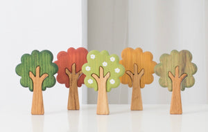 Wooden Season Trees - Things They Love