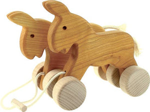 BAJO Wooden Double Donkeys