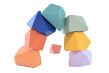 Load image into Gallery viewer, Confetti | 8 Set of Rock Blocks - Things They Love
