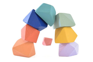 Confetti | 8 Set of Rock Blocks - Things They Love