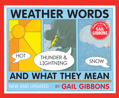 Weather Words and What They Mean - Things They Love
