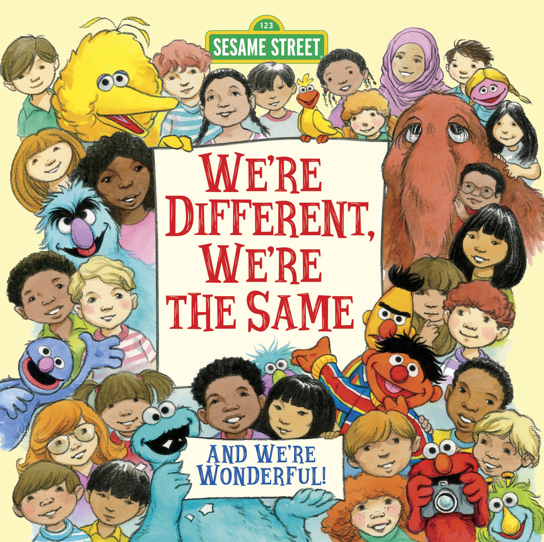 We're Different, We're the Same (Sesame Street) - Things They Love