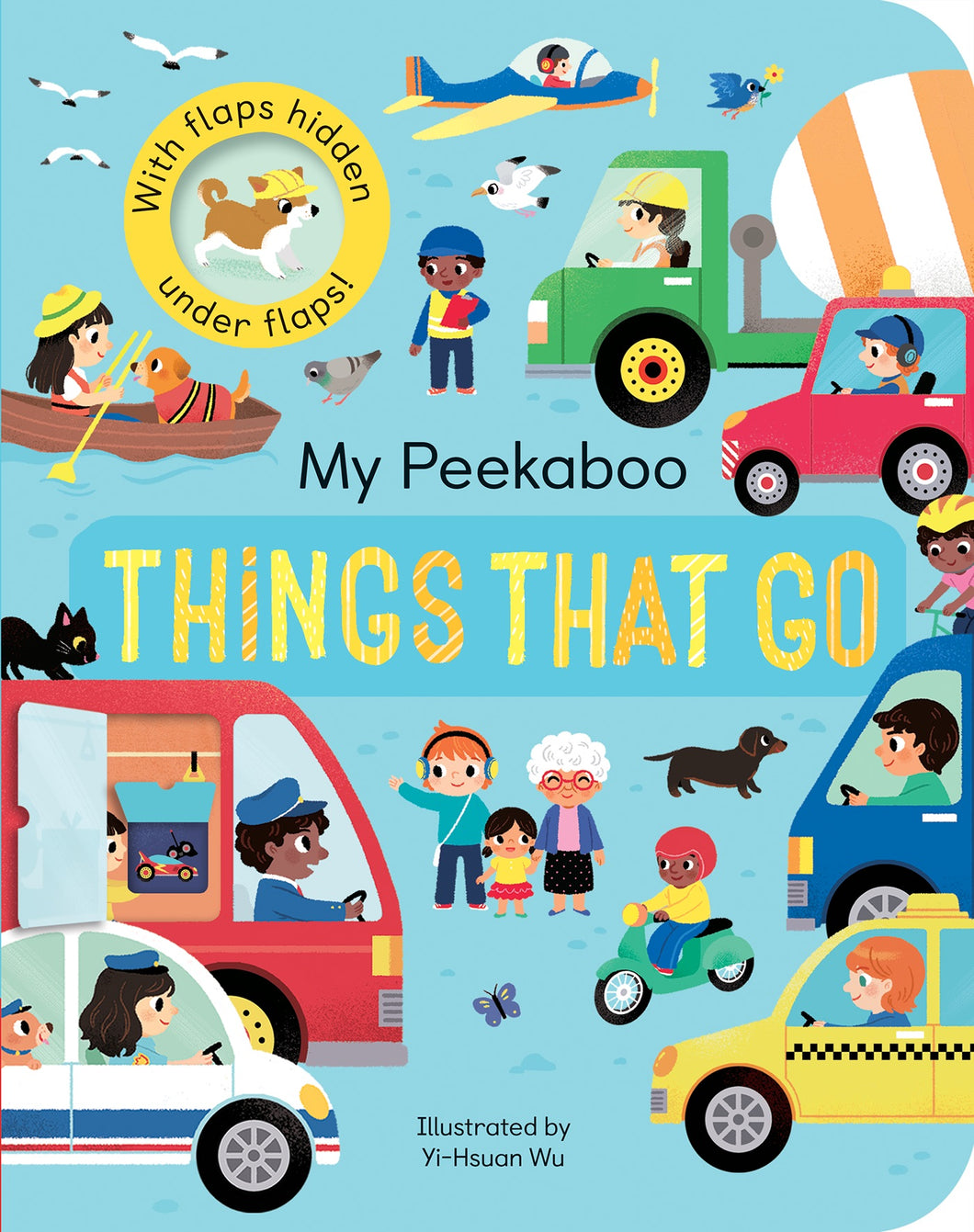 My Peekaboo Things That Go - Things They Love