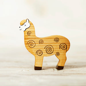 Wooden Alpaca - Things They Love