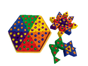 Pre-Order - Junior Triangles - 54 pcs - Things They Love