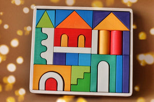 Building Blocks Set - The House - Things They Love