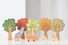 Load image into Gallery viewer, Wooden Season Trees - Things They Love