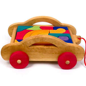 Car Carriage With Blocks