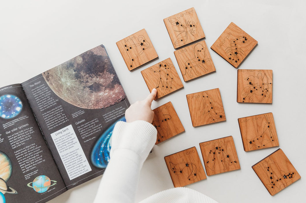 Constellation Tiles - Zodiac - Things They Love