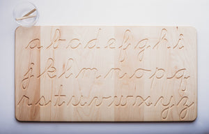 Double Sided Cursive Tracing Board