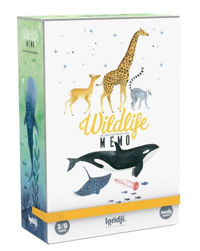 Nature - Wildlife Memory Game
