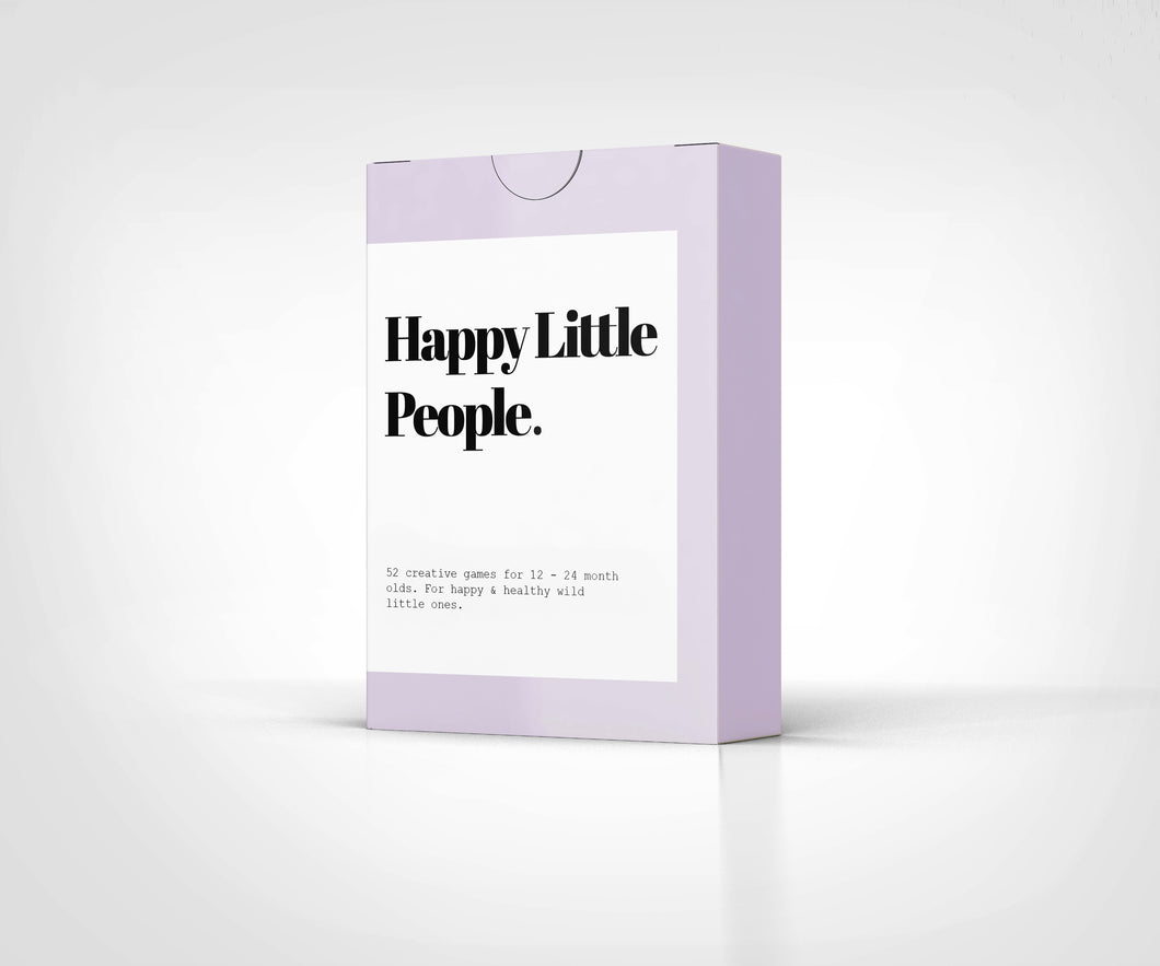 Happy Little People Card Deck: The Second Year - Things They Love