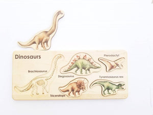 Dinosaurs Puzzle - Things They Love