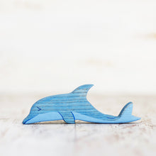 Load image into Gallery viewer, Wooden Dolphin - Things They Love