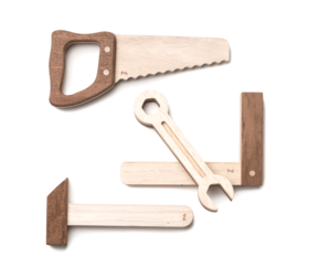 Wooden Tool Set - Things They Love