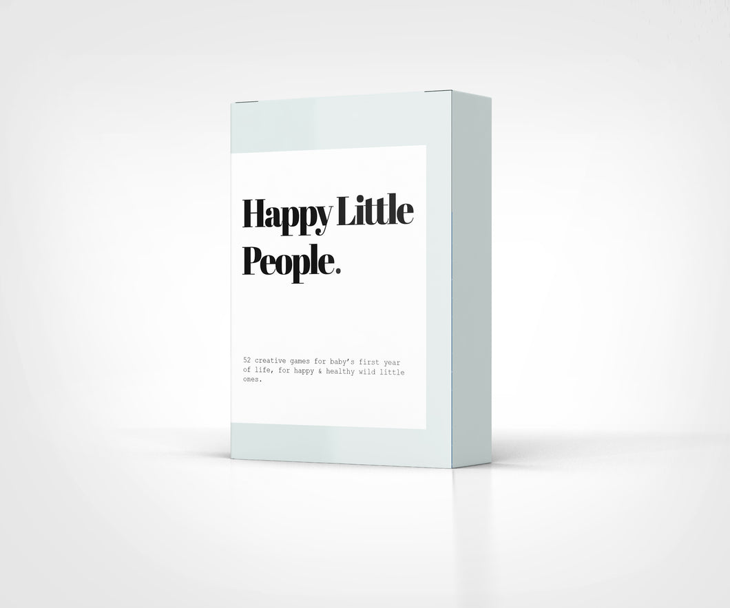 Happy Little People Card Deck: The First Year - Things They Love