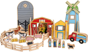 THE FRECKLED FROG Happy Architect Farm set of 26