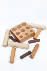 Montessori Size Discrimination Peg Toy - Things They Love