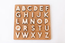 Load image into Gallery viewer, Chunky Uppercase Alphabet Puzzle