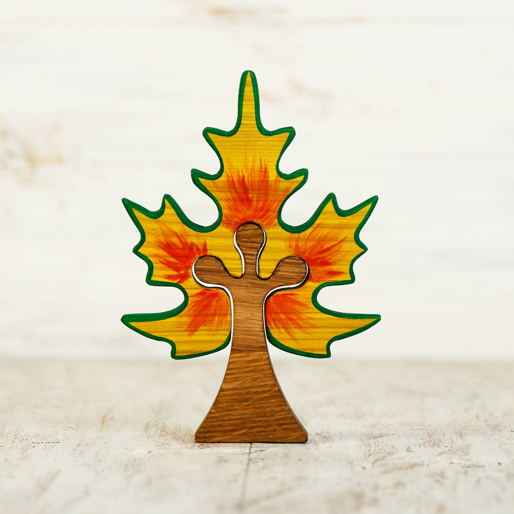 Wooden Maple Tree - Things They Love