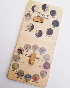 Moon Phase Calendar - Things They Love