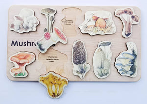Mushroom Puzzle - Things They Love