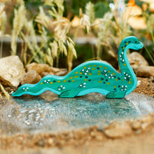 "Load image into Gallery viewer, Wooden Loch Ness ""Nessie"" - Things They Love"