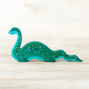 "Wooden Loch Ness ""Nessie"" - Things They Love"