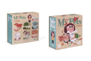 I Love My Pets (21 pcs) - Shape & Reversible