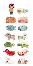 Load image into Gallery viewer, I Love My Pets (21 pcs) - Shape & Reversible