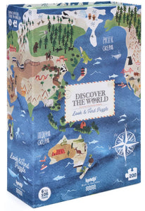LONDJI Puzzle - Discover the World (200 pcs) - Observation