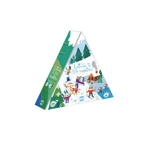 Puzzle - Let's Go to the Mountain (36pcs )- Reversible