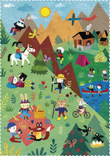 Load image into Gallery viewer, Puzzle - Let's Go to the Mountain (36pcs )- Reversible