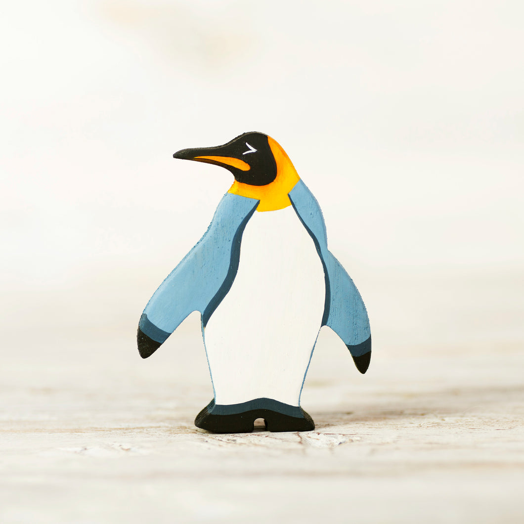 Wooden King Penguin