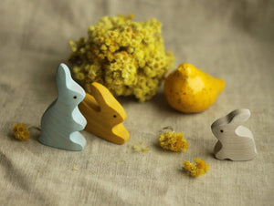 Rabbit family (4 pcs)
