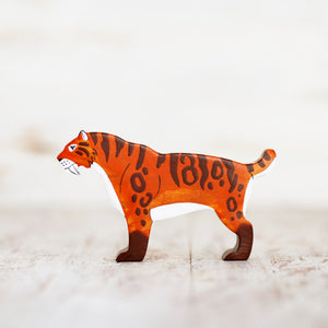 Wooden Saber Toothed Tiger - Things They Love