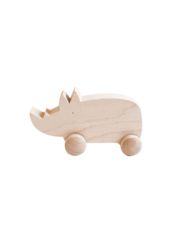 Wooden Rhino (ETA End of Nov)
