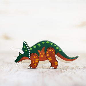 Wooden Triceratops - Things They Love