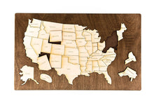 Load image into Gallery viewer, USA Map Puzzle - Things They Love