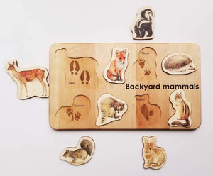 Woodland Animals Puzzle - Things They Love