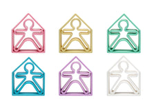 Load image into Gallery viewer, Pastel Kids & Houses 6 Pack (Assorted Pastel Colors)