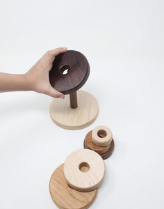 The Montessori 6 Ring Stacker - Things They Love