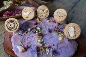 Garden Play Dough Stamps - Things They Love