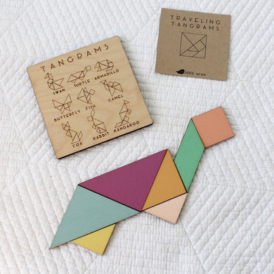 Traveling Tangrams - Things They Love