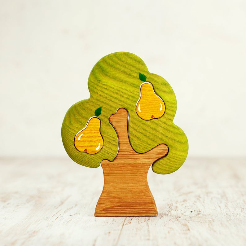Wooden Pear Tree